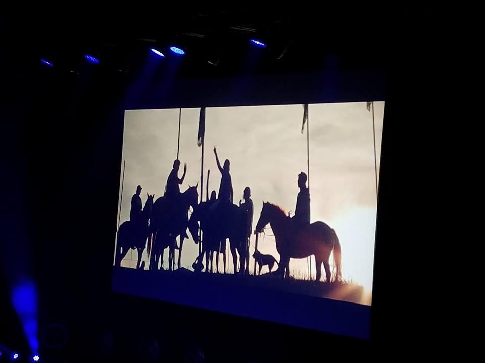 Dave Matthews benefit for Standing Rock - photo credit - Jaime Pinkham, Nez Perce